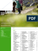 Sustainability Report 2009