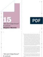 15 MACBA QP - Stephen Melville - Art and Objecthood