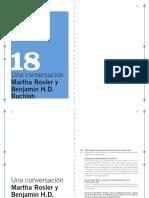 18 MACBA QP - Una conversación Martha Rosler, Benjamin H.D. Buchloh