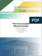 Plan Van Aanpak StageRapport