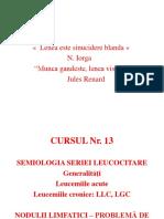 13_Hematologie_Leucocite-Adenopatii.ppt