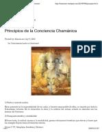 Principios de la Consciencia Chamánica