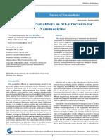 Electrospun Nanofibers as 3D-Structures for Nanomedicine