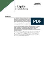 3M Fluorinert Liquids for Electronics Manufacturing