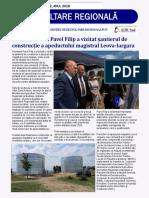 Buletin electronic informativ al Agenției de Dezvoltare Regională Sud, Nr.2, 2018