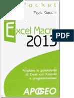 Guccin Paolo - Excel Macro 2013 (191pg)