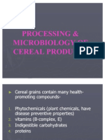 Processing & Microbiology of Cereal Products