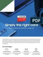 [Memory Card] Flyer_EVO Plus(180928)