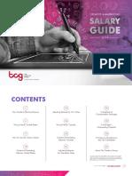 2019 Salary Guide - Creative & Marketing