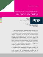 Salazar Vargas - La evaluación de políticas públicas