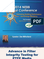 Advance in PTFE MEdia Dan MilHolland April 4