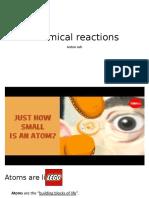 chemical reaction presentation
