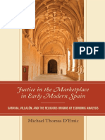 D`EMIC, Michael Thomas. Justice in the Market Place in Early Modern Spain. Lanham. Lexington Books. 2014. Pp:308