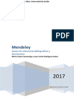 Manual de Mendeley, Gestor de Referencias Bibliograficas