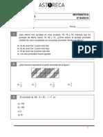 8o Basico Ensayo Simce Matematica g