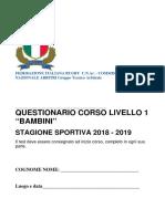 TEST REGOLAMENTO Corso Livello Bambini.pdf