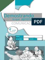 Cuadernillo Salida2 Comunicacion 4to Grado CORRECTO