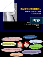 Diabetes Mellitus 2018