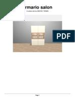 Armario Salon Ikea