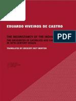 Eduardo Viveiros de Castro  Gregory Duff Morton The Inconstancy of the Indian Soul