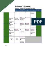 motsinger learning contract calendar