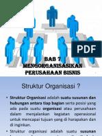 Pertemuan 7 Mengorganisasikan Perusahaan Bisnis 1.pptx