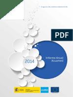 Informe Anual 2014 ACUAMED