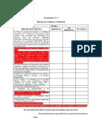 Requisitos Para Auditoría