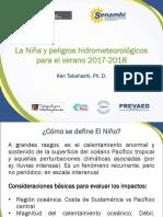 Senamhi - La Nina y los peligros hidrometeorologicos 2017-2018.pptx