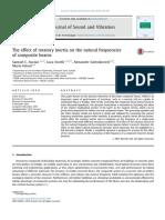 Theeffectofrotatoryinertiaonthenaturalfrequenciesofcompositebeams