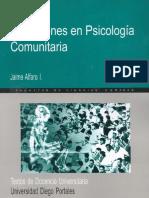 Discusiones en Psicologia Comunitaria
