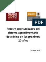 Lectura 6. Retos y Oportunidades Del Sistema Agroalimentario de México en Los Próximos 20 Años