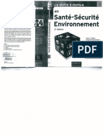 Boite a Outils Sante Securite en Environnement 2eme Edition