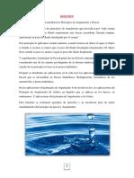 Principios de Pascal y Arquímedes (Monografía)