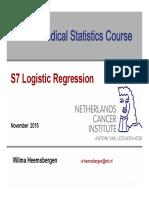 S7 Logistic Regression