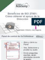 Beneficios de ISO 27001- Cómo Obtener El Apoyo de La Dirección