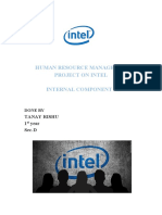 Hrm Project Intel