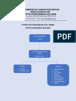 Struktur Organiasasi Poli Umum