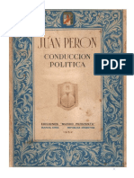 Manual de conducción política peronista