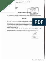 Declaración Preocupación y Repudio Gas - Marisol Merquel