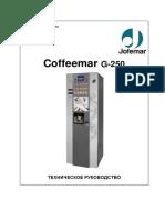 Coffeemar G-250 Manual
