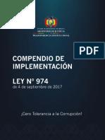 Compendio Ley n 974