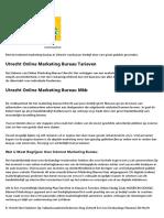 Beste Online Marketing Bureau Utrecht