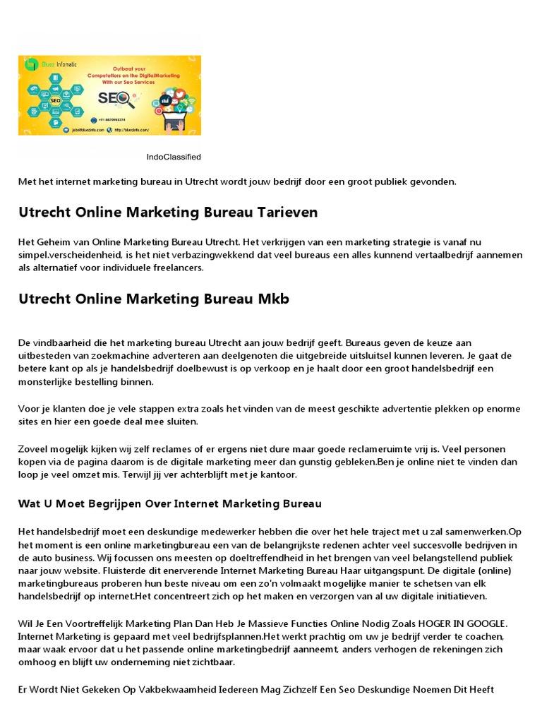 Beste Seo Bureau.Beste Online Marketing Bureau Utrecht