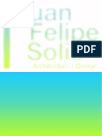 Arch. Juan Felipe Solis Portfolio English