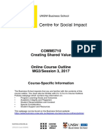 COMM5710 Creating Shared Value Online Session 3 2017