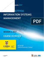 MBAXGBAT9106 Information Systems Management Session 3 2017