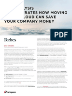 Cloud can save your company money
