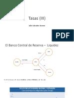 Tasas (III)
