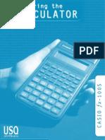 Calculator Manual